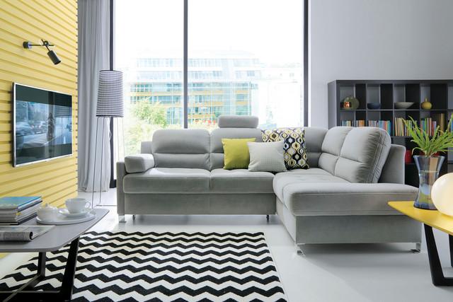 Corner sofa Fiorino and armchair Boss