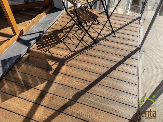 Lenta - balkon rustykalny