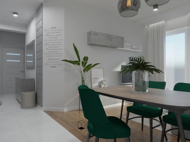 Suwałki Salon w mieszkaniu 50m2