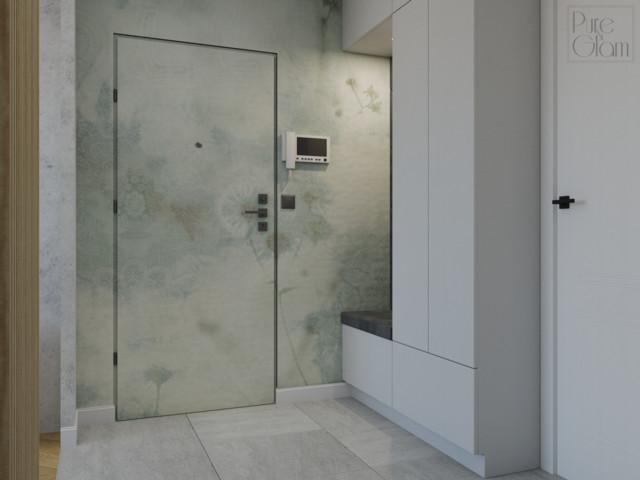 Nietypowy pomysł na drzwi wejściowe, które wtapiają...