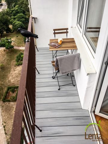Lenta - balkon szary