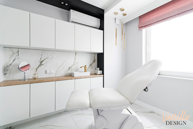 Projekt salonu kosmetycznego Prestige Studio Paulina Stylska