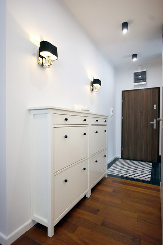hol i garderoba w apartamentowcu