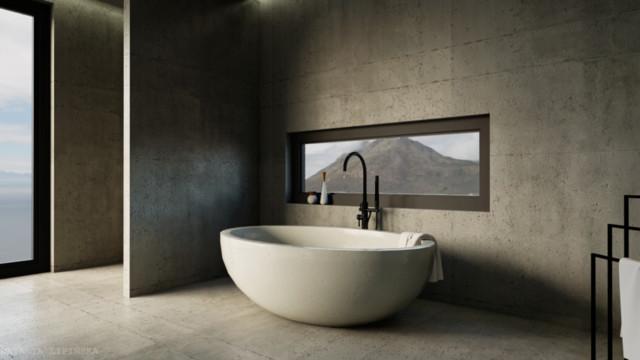 Concrete face of minimalism