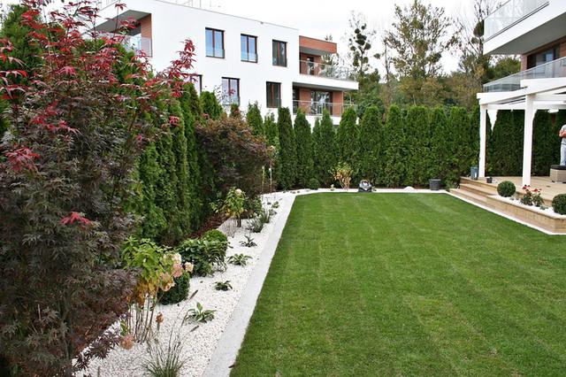Ogród w Gdyni Orłowie