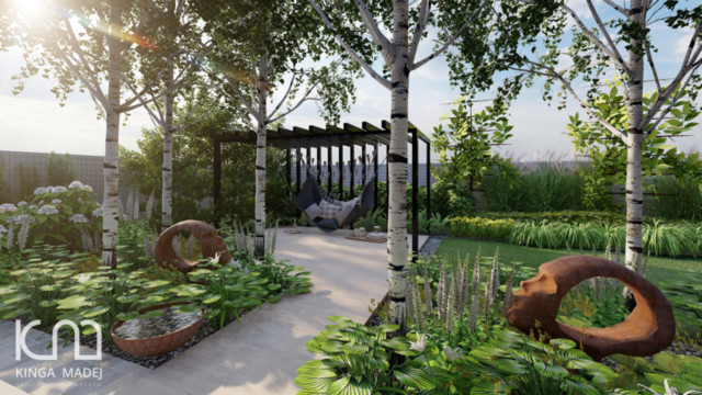 Ogród Boho w Sopocie