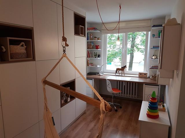 Niewielki pokój - wiele funkcji