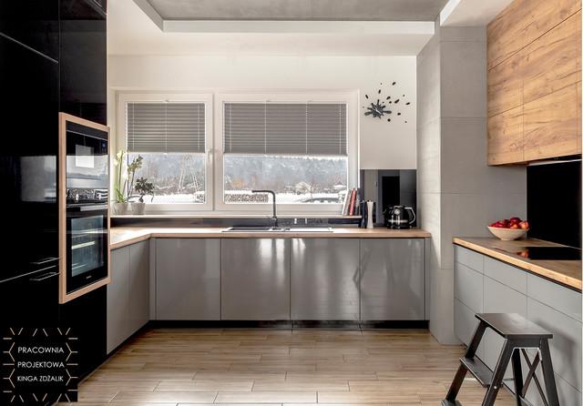 Kuchnia w stylu loft - realizacja