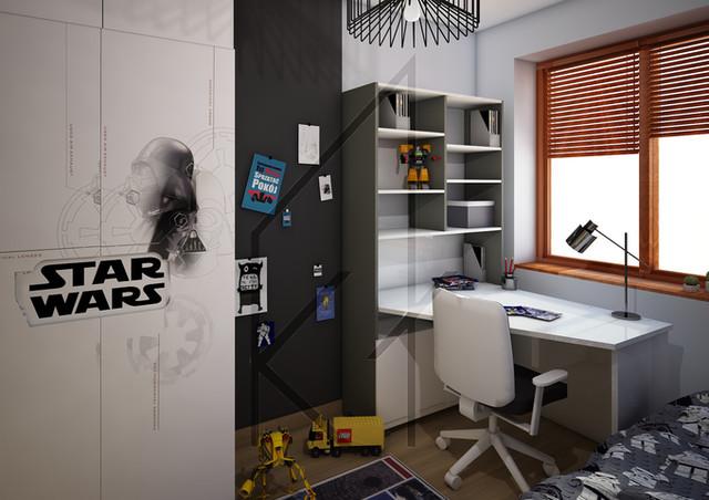 Pokój dziecięcy Star Wars