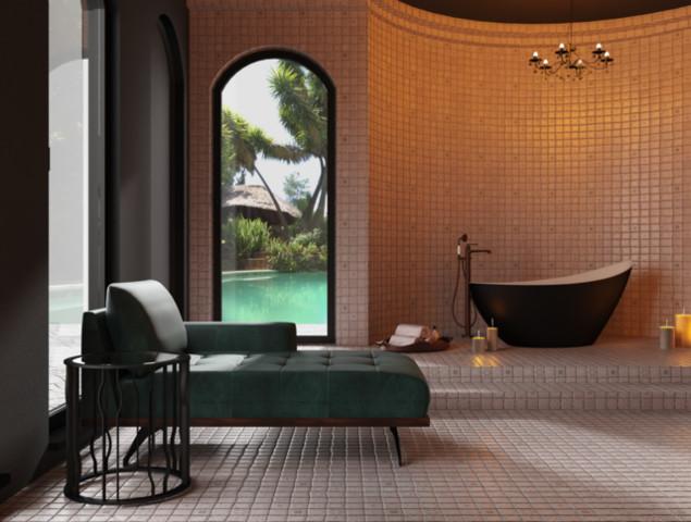 Apartament hotelowy z salonem łazienkowym