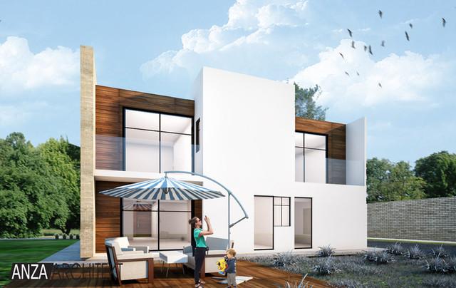 Dom jednorodzinny w Puebli