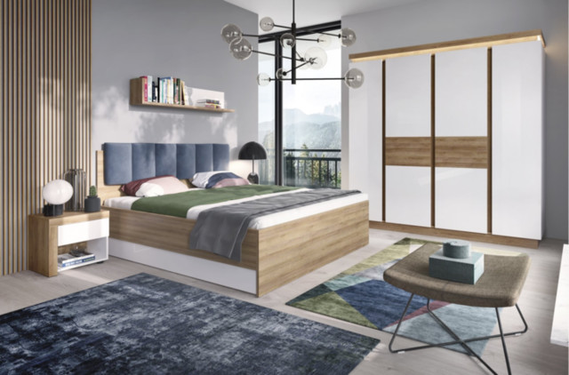 Lyon jasny sypialnia