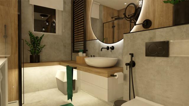 Klimatyczna łazienka