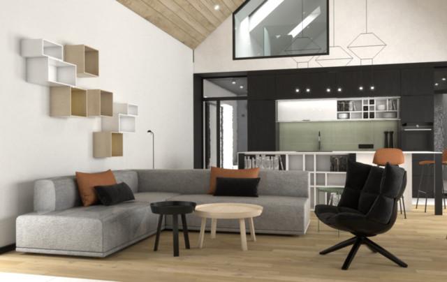 Dom typu nowoczesna stodoła