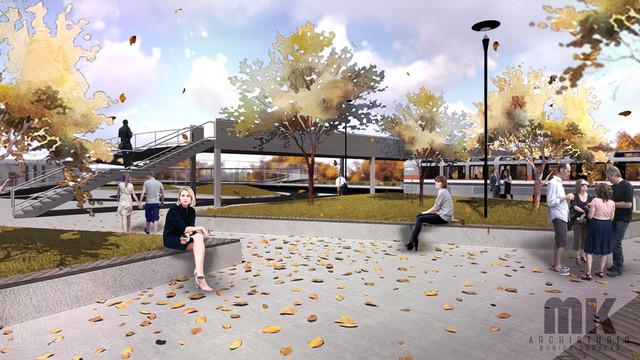 Nowy dworzec kolejowo - autobusowy