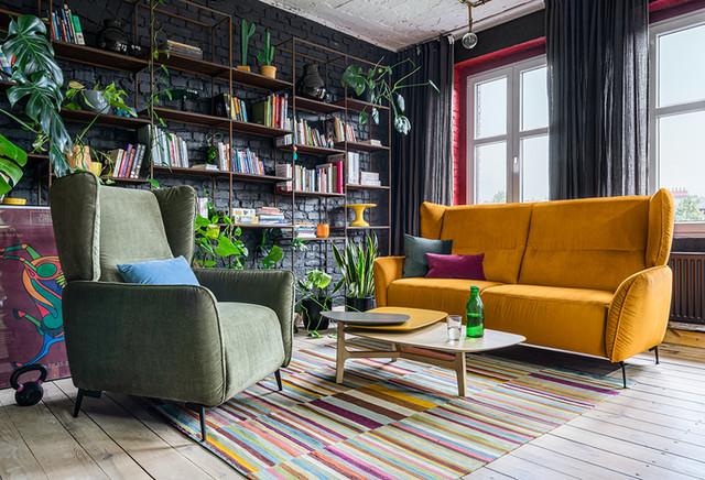 Zestaw wypoczynkowy Lorien (sofa i fotel z manualną...