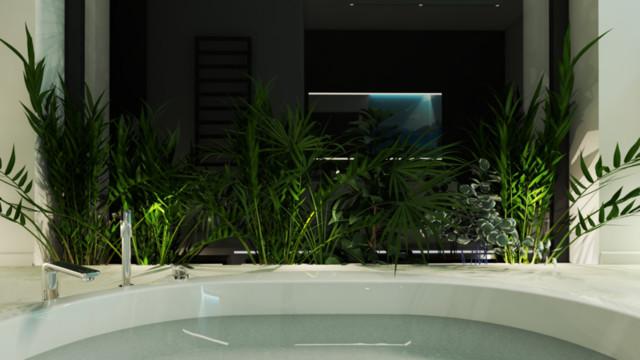 Tropikalny salon kąpielowy-okolice Tarnowa