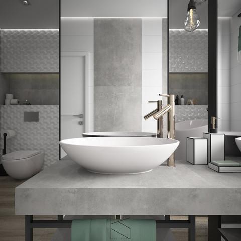 Łazienka, umywalka - detal