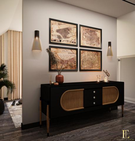 Dom 150m2 nad Marną w minimalistycznym stylu z nutą boho