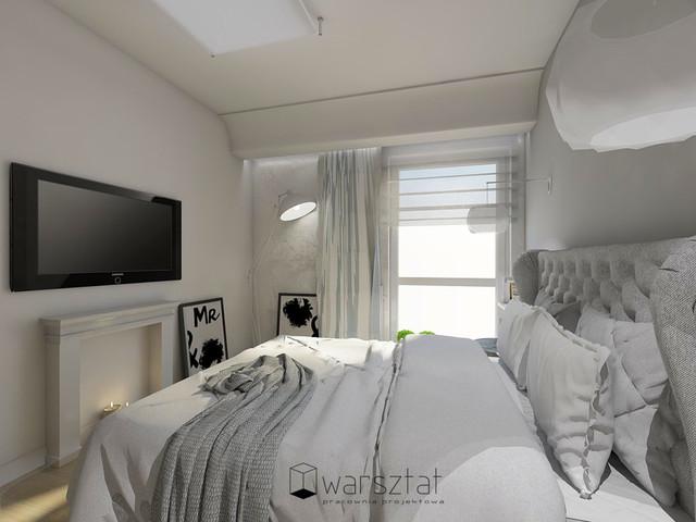 Suwałki, mieszkanie pokazowe 2016, sypialnia