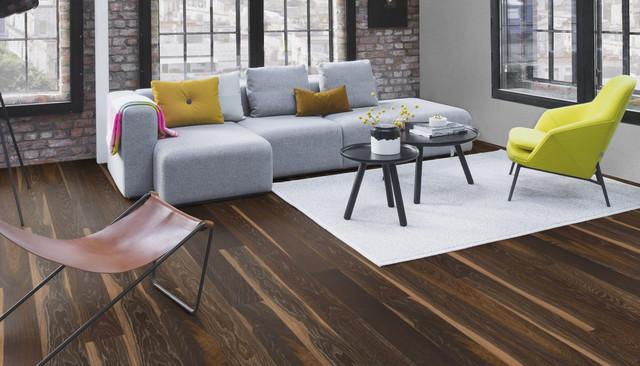 Solid Wood, Oak Lava Rustic, BOEN