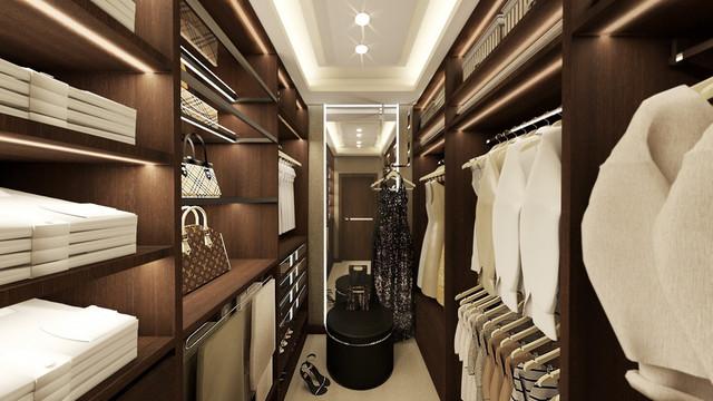 Luksusowe garderoby pod Tarnowem