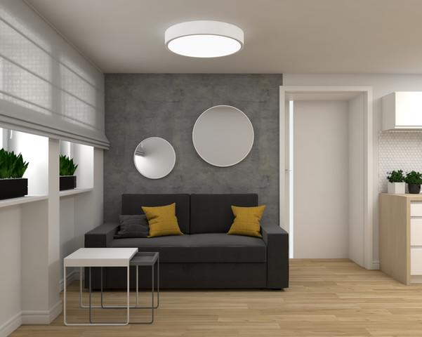 Projekt mieszkania dla 4 osobowej rodziny