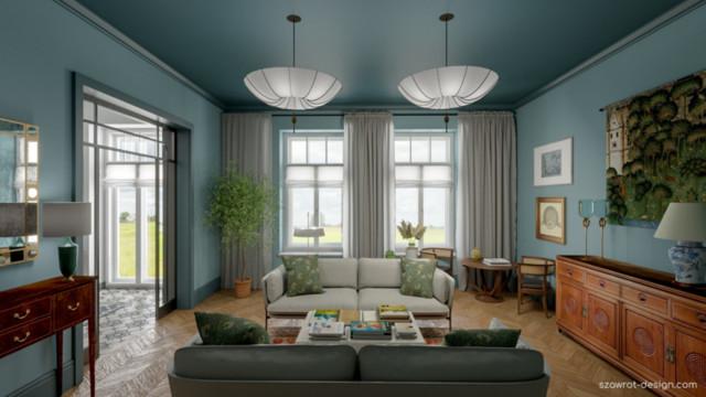 Błękitny salon